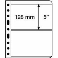 Plastic Pockets VARIO, 2-way Division, Clear Film - Clear Sleeves