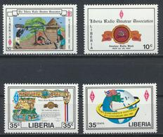 °°° LIBERIA - Y&T N°1055/58 - 1987 MNH °°° - Liberia