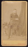 TURKEY CONSTANTINOPLE - ABDULLAH FRERES - DAMAGED CDV PHOTO 11 X 6 Cm (see Sales Conditions) - Anciennes (Av. 1900)