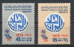 °°° LIBIA LIBYA - Y&T N°1055/58 - 1979 MNH °°° - Libia