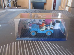 CK25 Tintin, Jeep Objectif Lune En Boite - Kuifje