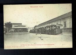CPA 88 - Gérardmer - Tramway  Hohneck  La Schlucht En Gare De Gérardmer - Weick St Dié - Gerardmer
