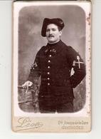 PETITE PHOTO CHASSEUR DU 28e REGIMENT PHOTO LEON GRENOBLE - Guerre 1914-18