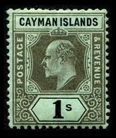 1908 Cayman Islands $1 Shilling - Iles Caïmans