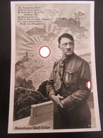 Postkarte Propaganda Hitler - Rand Etwas Beschädigt Aber Nicht Gerissen - Deutschland