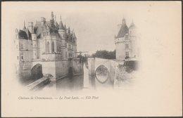 Le Pont Levis, Château De Chenonceaux, C.1900-05 - Neurdein CPA ND7 - Chenonceaux