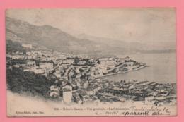 Monte Carlo - Vue Génerale - La Condamine - Monte-Carlo
