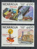 °°° NICARAGUA - Y&T N°1298/99 - 1983 MNH °°° - Nicaragua