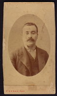 TURKEY CONSTANTINOPLE - ABDULLAH FRERES - DAMAGED CDV PHOTO 10 X 6 Cm (see Sales Conditions) - Anciennes (Av. 1900)