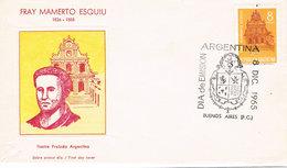 Argentinien / Argentina FDC 892 - Bruder Mamerto Esquiú - Kirche Des Heiligen Francisco In Catamarca - Argentinien