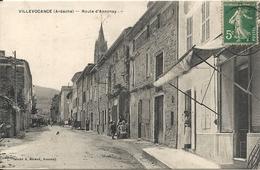 *VILLEVOCANACE. ROUTE D'ANNONAY - Autres Communes