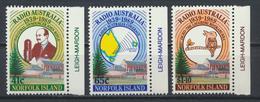 °°° NORFOLK ISLAND - Y&T N°464/66 - 1989 MNH °°° - Isola Norfolk