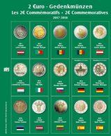 SAFE 7341-20 Münzblatt Mit Vordruck Für 2 EURO 2017/2018 - Supplies And Equipment