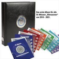 SAFE 7360 Premium Münzalbum 5-Euro-Planet Erde - Supplies And Equipment