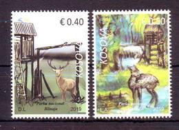 Kosovo 2019 Y Nature Flora Fauna National Park Blinaja Stamps With White Edge From Big Sheet MNH - Kosovo