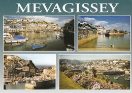 Postcard Mevagissey Cornwall Multiview By Celtic Scene My Ref  B23489 - England