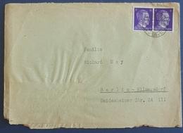 1942 Covers, Breslau (Wroclaw Poland) - Berlin, Deutsches Reich, Allemagne, Germany - Briefe U. Dokumente