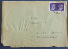 1942 Covers, Breslau (Wroclaw Poland) - Berlin, Deutsches Reich, Allemagne, Germany - Cartas