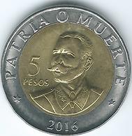 Cuba - 2016 - 1 Peso - Antonio Maceo - Cuba