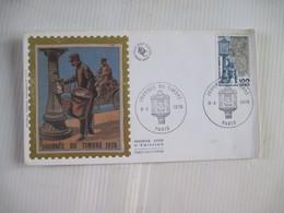 JOURNEE DU TIMBRE 1978 PARIS TBE - FDC
