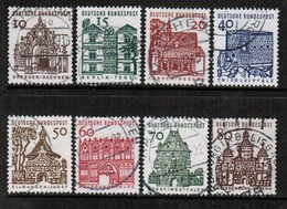 GERMANY  Scott # 903-12 VF USED (Stamp Scan # 476) - [7] Federal Republic