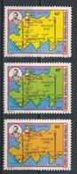 °°° CONGO - Y&T N°691/93 - 1982 MNH °°° - Congo - Brazzaville