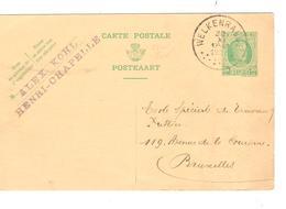 PR6408/ Entier CP 79 C.Welkenradt 30/11/1927 .BXL  écrit De Henri - Chapelle - Stamped Stationery