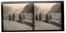 FOTO STEREOSCOPICA -  COURMAYEUR 1934 - Photos Stéréoscopiques