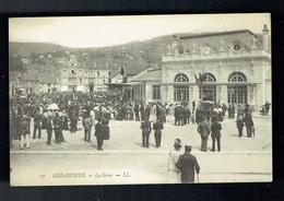 CPA 88 - Gérardmer - La Gare - Hotel Providence En Arrière Plan - LL/17 - Gerardmer