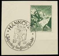 DEUTSCHES REICH 1938 Nr 678 Zentrisch Gestempelt Briefstück X8B02F2 - Deutschland