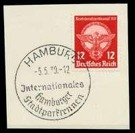 DEUTSCHES REICH 1939 Nr 690 Zentrisch Gestempelt Briefstück X8B0442 - Allemagne