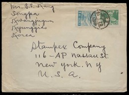 KOREA. C.1948. Songpa / Kwangjugun - USA. Fkd Env. Nice Cond. - Korea (...-1945)