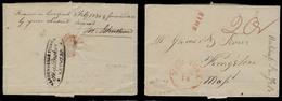 BELGIUM. 1830 (28 Jan). Antwerp - USA / Mass. EL Written By Frany Johnson, Fwded At Origin By Vandenbengh Fils / Shipbro - Belgium