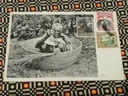 CPA MOÇAMBIQUE, MOZAMBIQUE Basket Making - Edit A. Brook , Beira N°14 - Mozambique