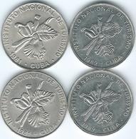 Cuba - 1981 - INTUR - 25 Centavos (KM417 & KM418.1) 1989 (KM418.2 & KM418.2a) - Cuba