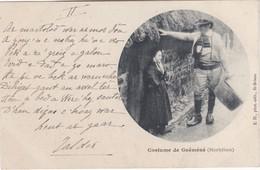 Costume De Guéméné - Couple - Rare En Cercle - Guemene Sur Scorff