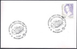 Italia Italy (2019) Special Postmark: Roma - 50th Anniversary Moon Landing (as Scan) - Autres