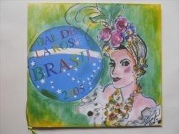 "Programme Du Bal De La Rose ""Brasil"" à Monaco En Mars 2005 Illustration Karl Lagerfeld - Programme"