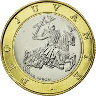Monnaie, Monaco, Rainier III, 10 Francs, 1989, ESSAI, SPL, Bi-Metallic - 1960-2001 Nouveaux Francs