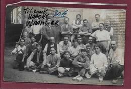 TILDONK-HAACHT:  FOTOKAART- KERKBOUW 1925-MET VOLK - Haacht