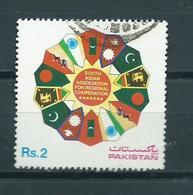 1985 Pakistan Regional Cooperation Used/gebruikt/oblitere - Pakistan