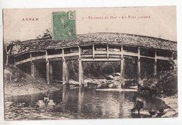 ANNAM    Environs De HUE   Un Pont Couvert - Vietnam