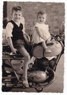 """MOTOCICLETTA  - """" ALPINO """" -  MOTORCYCLES - BAMBINI - FOTO ORIGINALE - Automobili"""