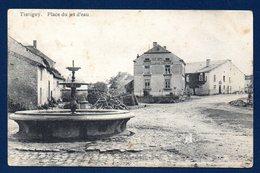 Tintigny. Place Du Jet D'eau. Quincaillerie & Poelerie Gillet Conhotte. 1911 - Tintigny
