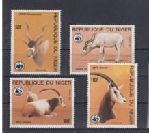 Niger (BBK) Michel Cat.No. Mnh/** 941/944 Wwf Issue - Niger (1960-...)