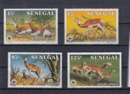 Senegal (BBK) Michel Cat.No. Mnh/**  875/878 Wwf Issue - Sénégal (1960-...)