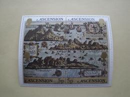 1981  Ascension Yvert  BF 12  ** Bateaux Ships Cote 1.50 € Scott 289a/d  Michel B 12  SG  Ms 301 - Ascension (Ile De L')
