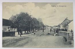 AK CROATIA GJURGJEVAC ĐURĐEVAC STREET SCENE 1929. - Croatia