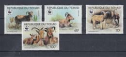 Tschad (BBK) Michel Cat.No. Mnh/** 1171/1174 Wwf Issue - Tchad (1960-...)
