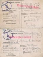 MILITARIA : 2 Cartes Correspondance Prisonniers De Guerre (1941) (scan Recto/verso) Stalag V A - 15 - Documents